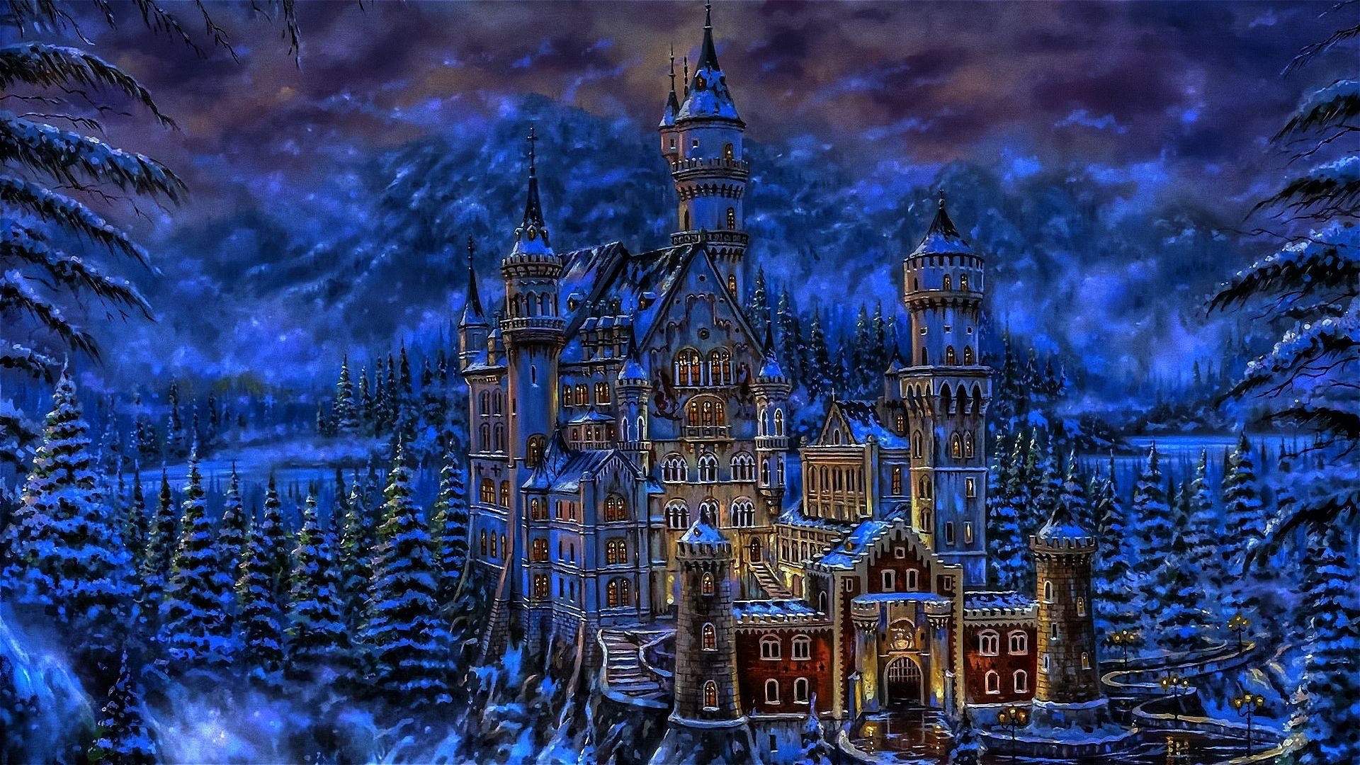 Fantasy Castle Wallpaper Fantasy Castle Fantasy Art