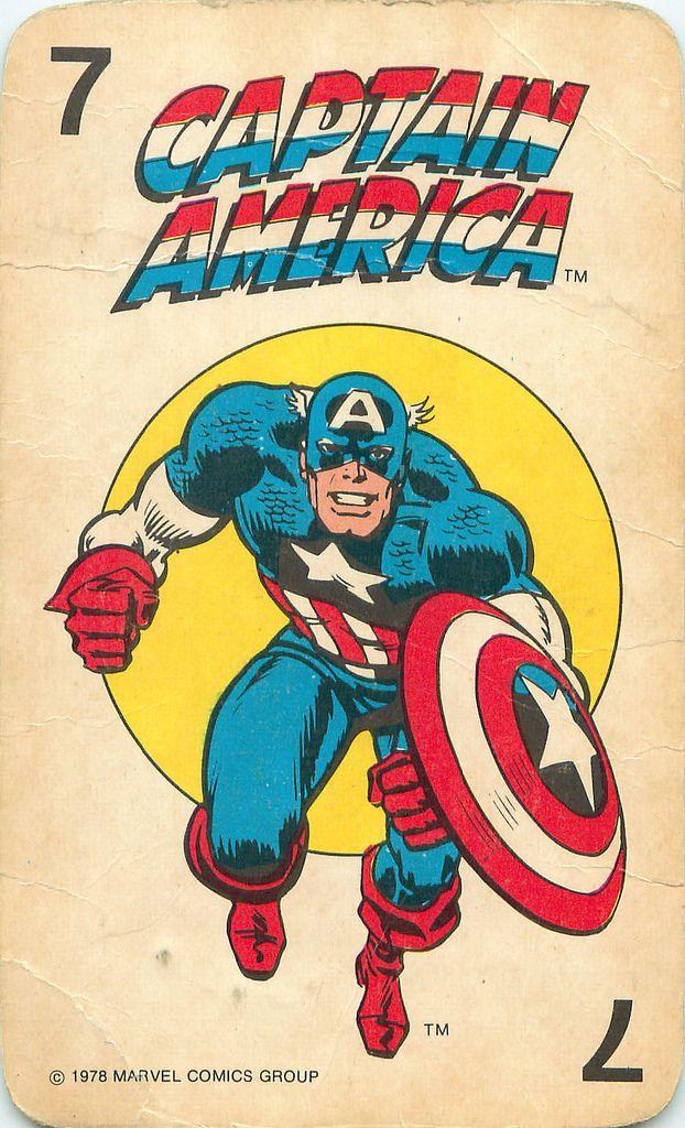 https://flic.kr/p/6FuzMx   Marvel Comics Superheroes Card Game