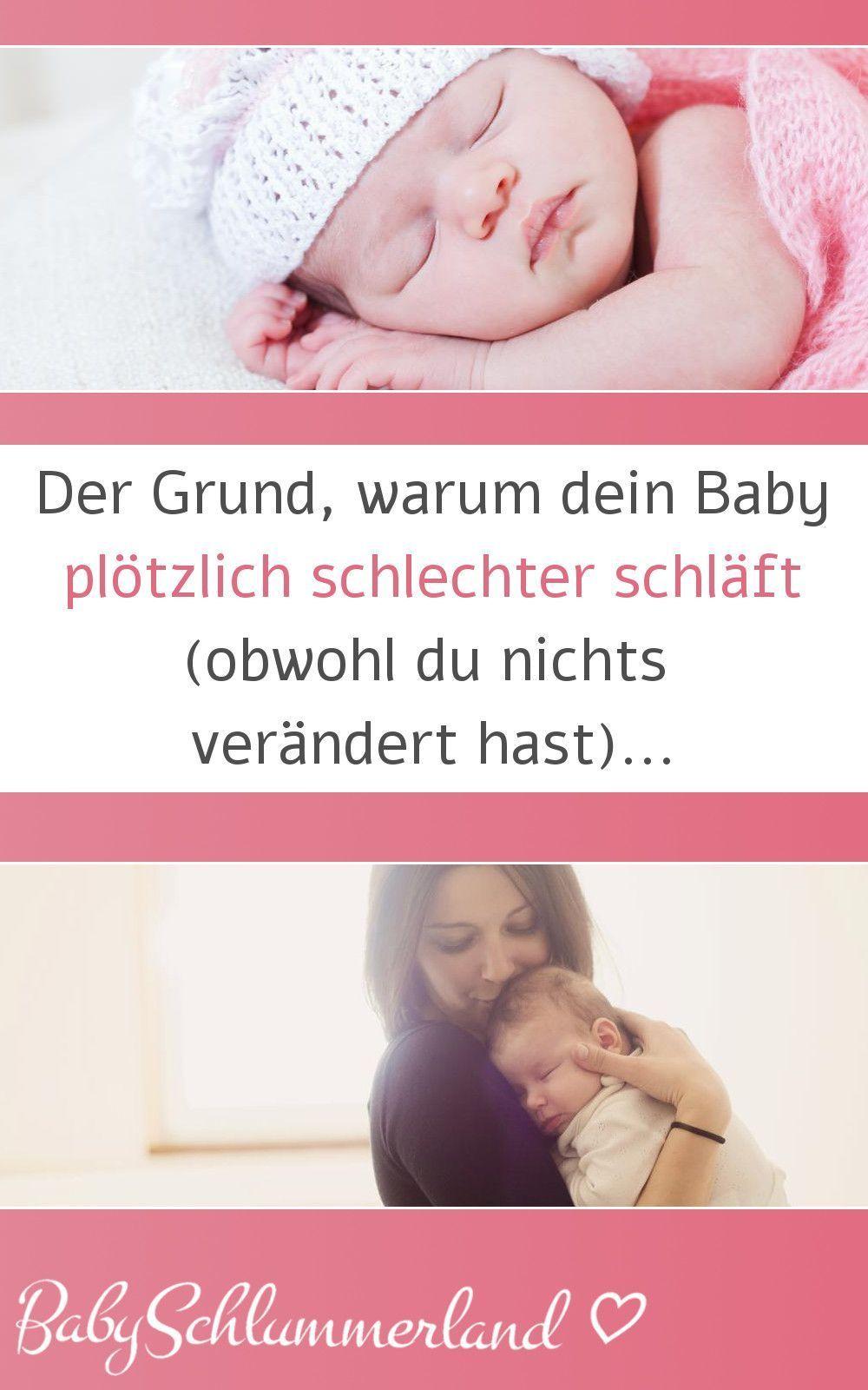 Baby 8 Monate Schläft Plötzlich Viel