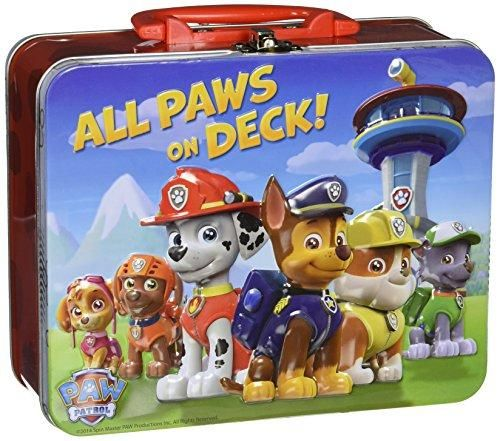 All Paws On Deck Paw Patrol Puzzle In Tin, 24 Pieces 8 X 6 X 3 Large - Paw patrol, Paw patrol characters, Paw, Tin boxes, Jigsaw puzzles for kids, Christmas toys - ABSB00P02XPE6,885759923806,All Paws On Deck Paw Patrol Puzzle In Tin, 24 Pieces 8 X 6 X 3 Large,,Christmas Day Products,Gifts Products