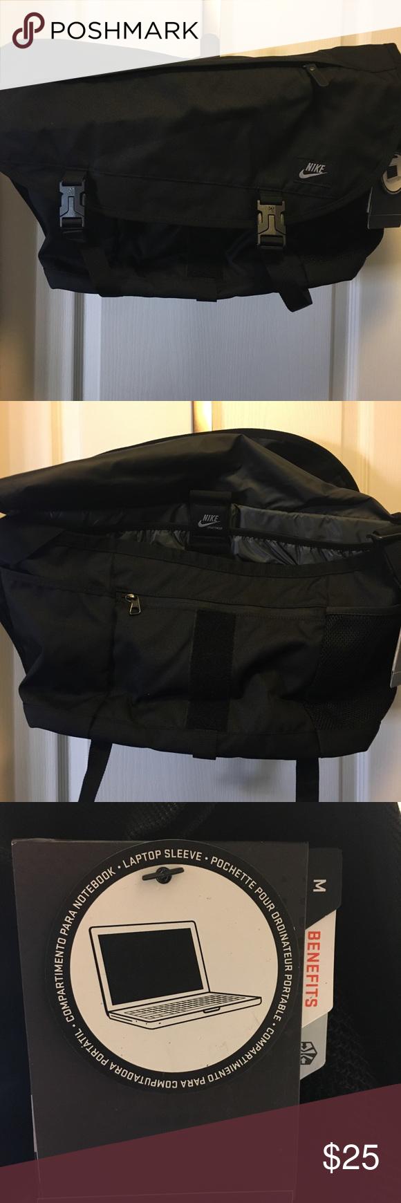 f442d708037c NWT Nike Messenger Computer Bag NWT Nike Messenger Computer bag. Over the  shoulder strap made