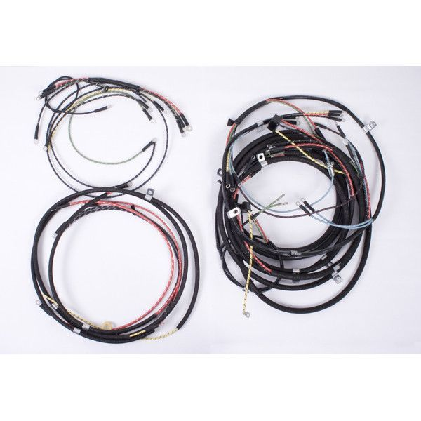Wiring Harness 46 49 Willys Cj2a Willys Old Jeep Harness