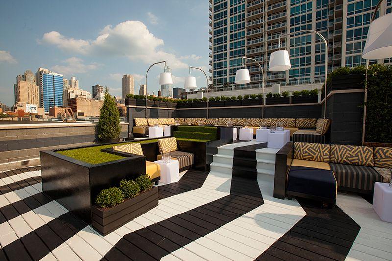 Kensington Roof Garden Patio Rooftop Lounge Roof Garden