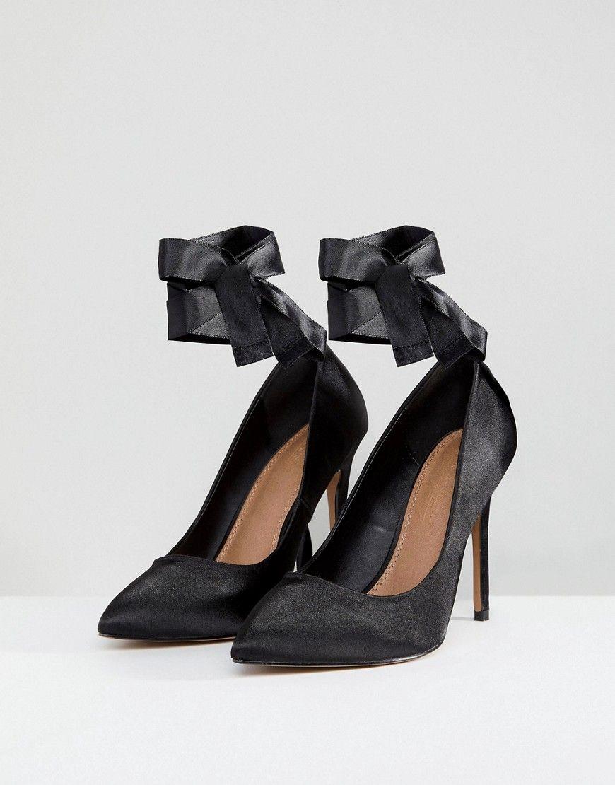 WEAK Wide Fit High Heels - Black Asos eI2KxkG9vb