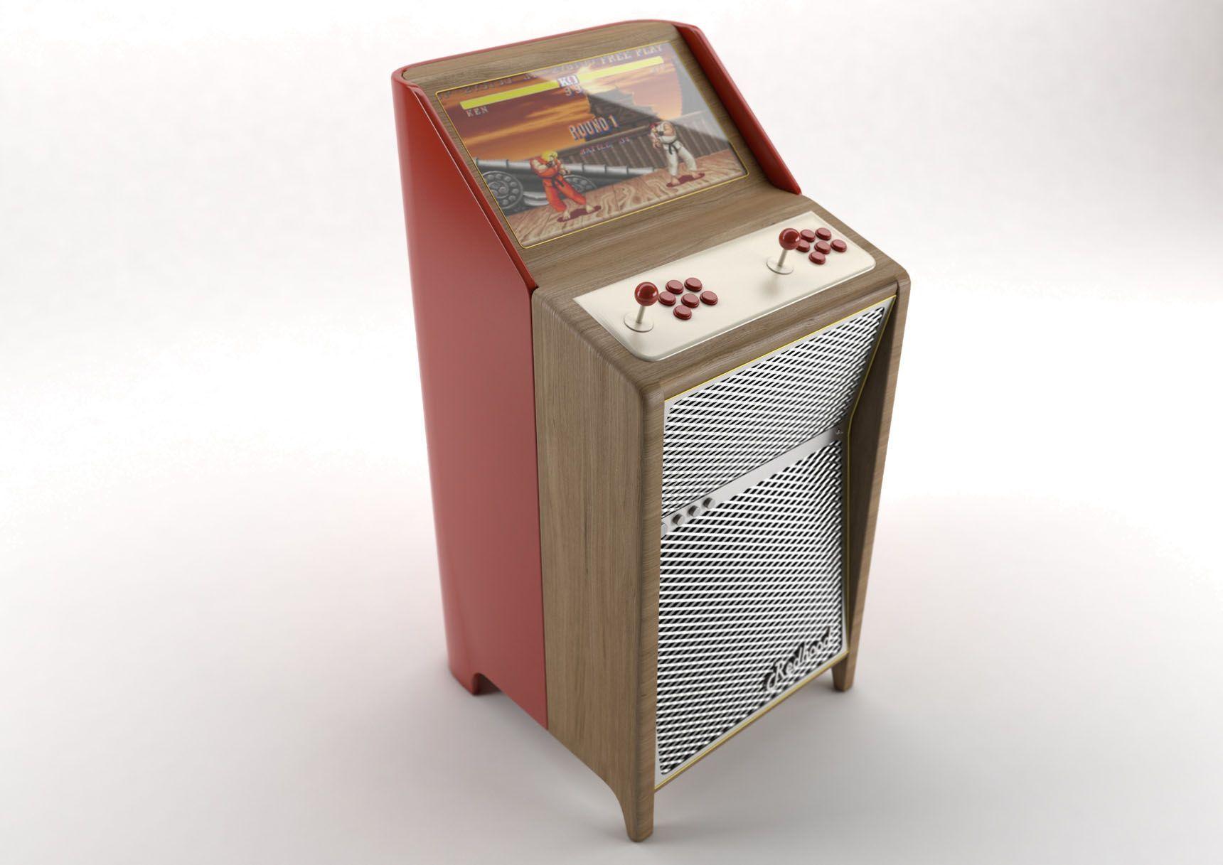 borne d 39 arcade ba rh01 mobilier tech arcade. Black Bedroom Furniture Sets. Home Design Ideas
