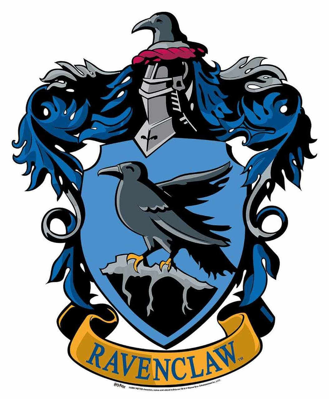 Ravenclaw Crest From Harry Potter Wall Mounted Official Cardboard