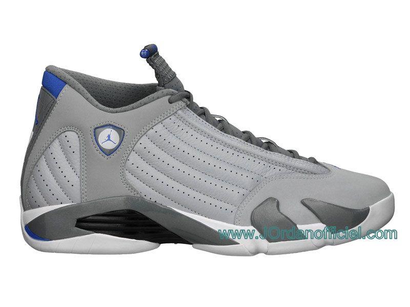 "Air Jordan 14 2014 Release ""Sport Blue"" Air Jordan 14 Coloris: Wolf Grey/White-Sport Blue ,Code des marchandises:487471-004 Release Date: 08/02/14"