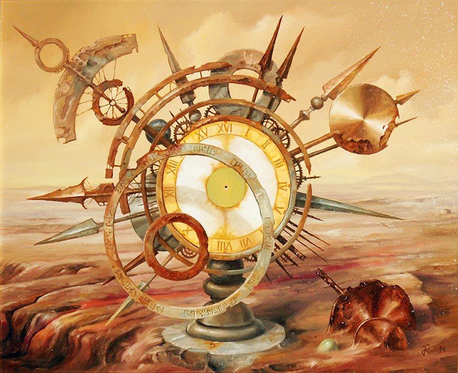 "Jaroslaw Jasnikowski ""Martian Clock"", 2014"