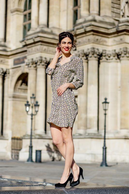 Robe Victoire - Sophie Rive Droite Marque de prêt à porter en édition limitée et 100% Made in France.