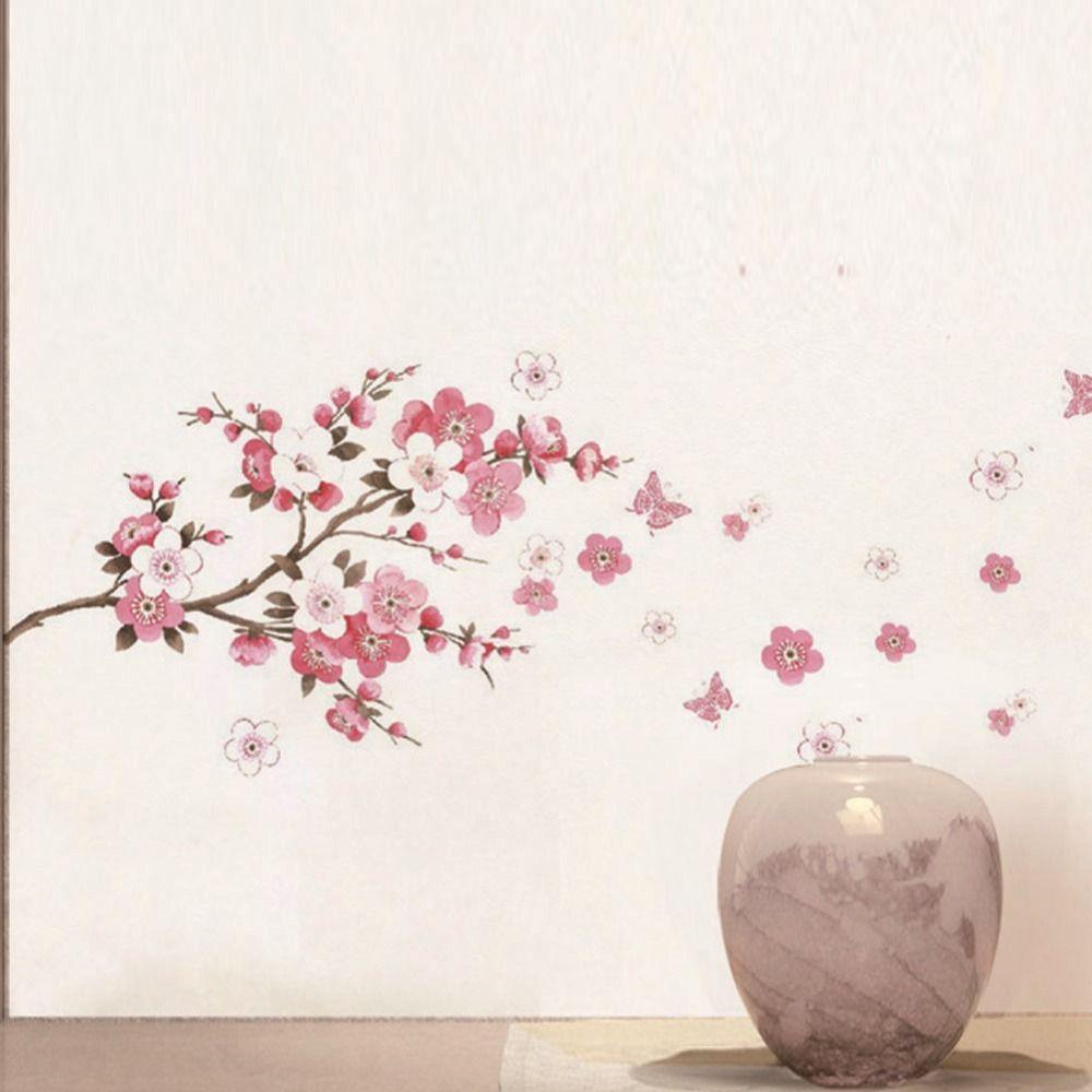 Popular Cherry Blossom Wall Decal Buy Cheap Cherry Blossom Wall