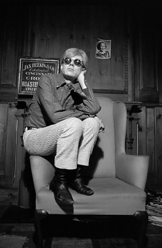 VICE - Andy Warhol in the Gaze of a 60s French Photographer