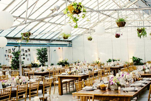 Brides A Garden Wedding At The Horticulture Center In Philadelphia