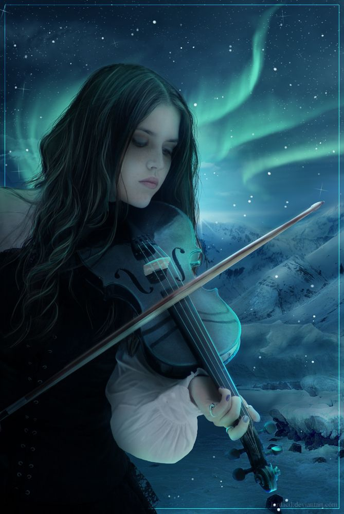 скрипачка картинки фэнтези