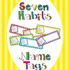 7 Habits bookmarks
