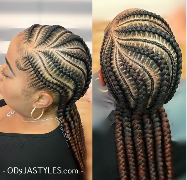 20 Braided Hair Styles 2020 Pictures Of Braid Styles You Should Try Next 15 In 2020 African Braids Hairstyles Hair Styles Feed In Braids Hairstyles