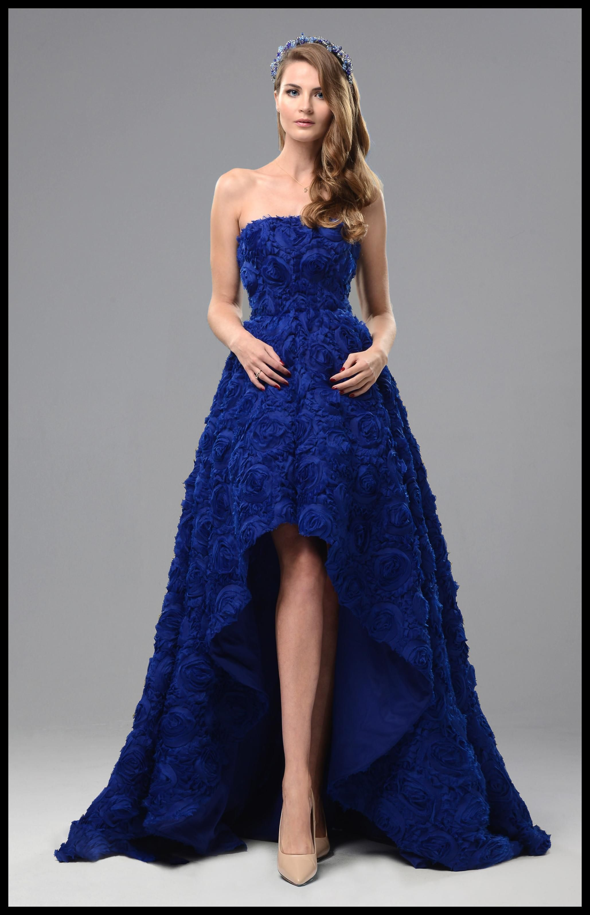 "Abendkleid ""Florence"" Blau - #Mode #Kleid #Fashion News ..."