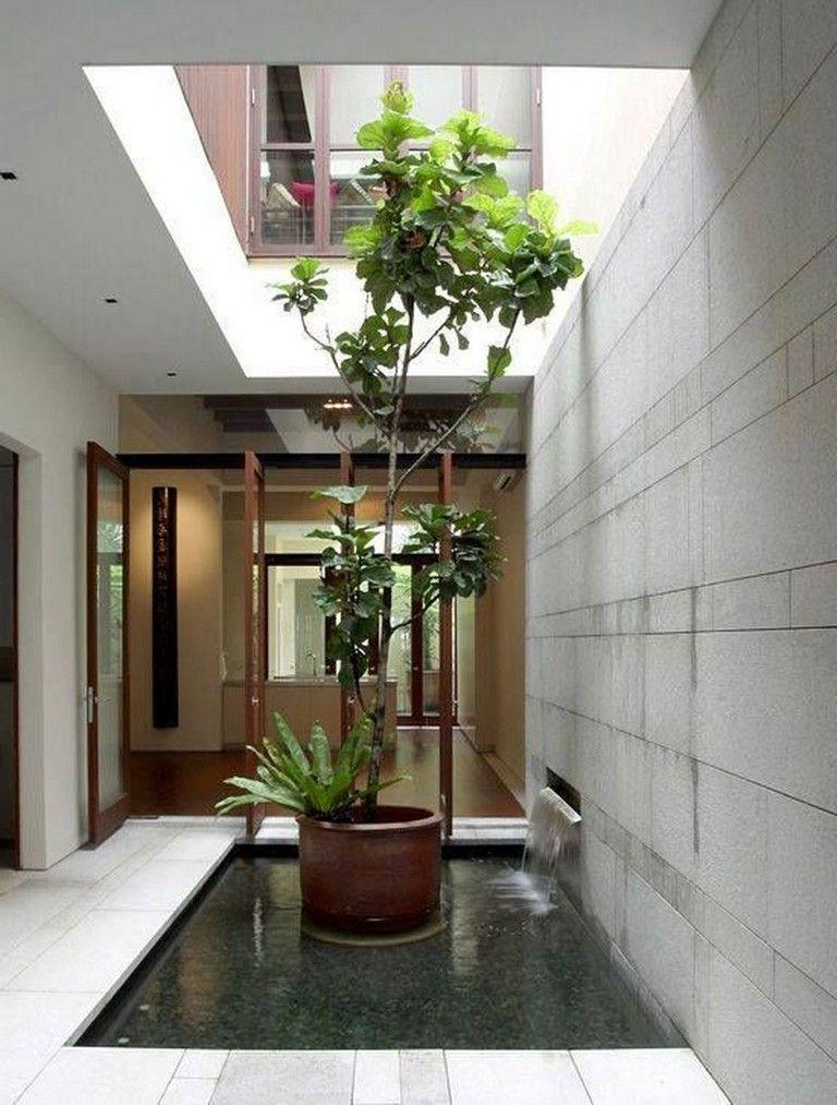 54 Amazingly Artistic Tree Inside House Interior Designs Di 2020
