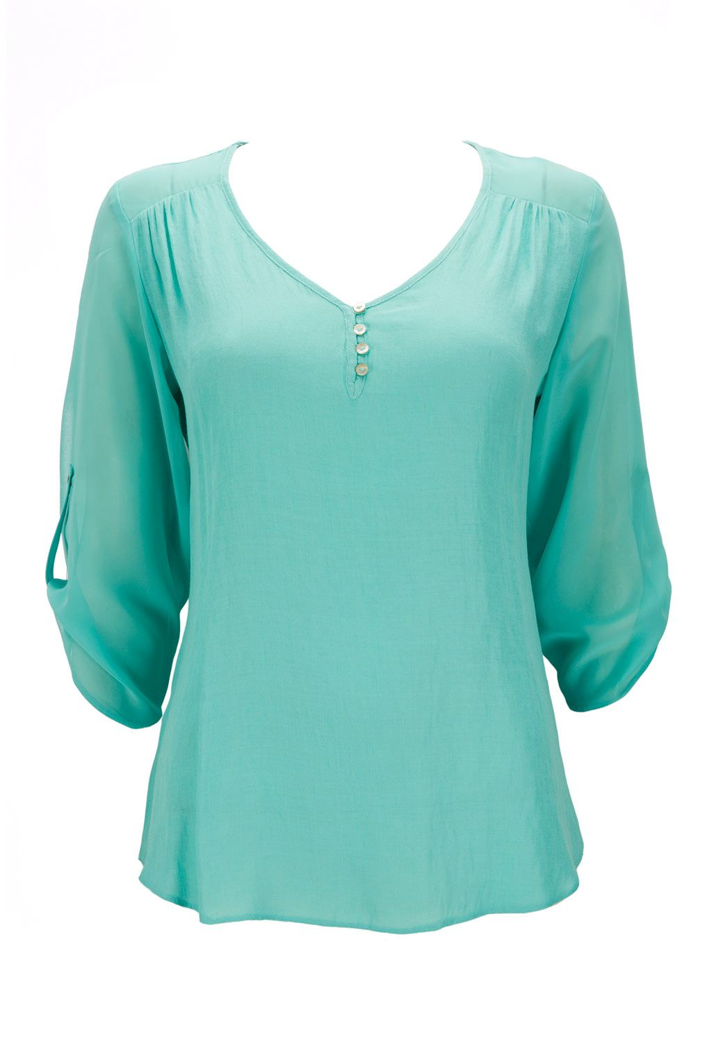 Petite Green Blouse - Up To 50% Off Selected Lines - Sale & Offers - Wallis US