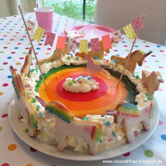 Regenbogenkuchen Kasekuchen Einhornkuchen Einhorn Regenbogenkuchen Einhorngeburtstag Www Loloundtheo Blogspot De Einhorn Kuchen Regenbogen Kuchen Einhornkuchen