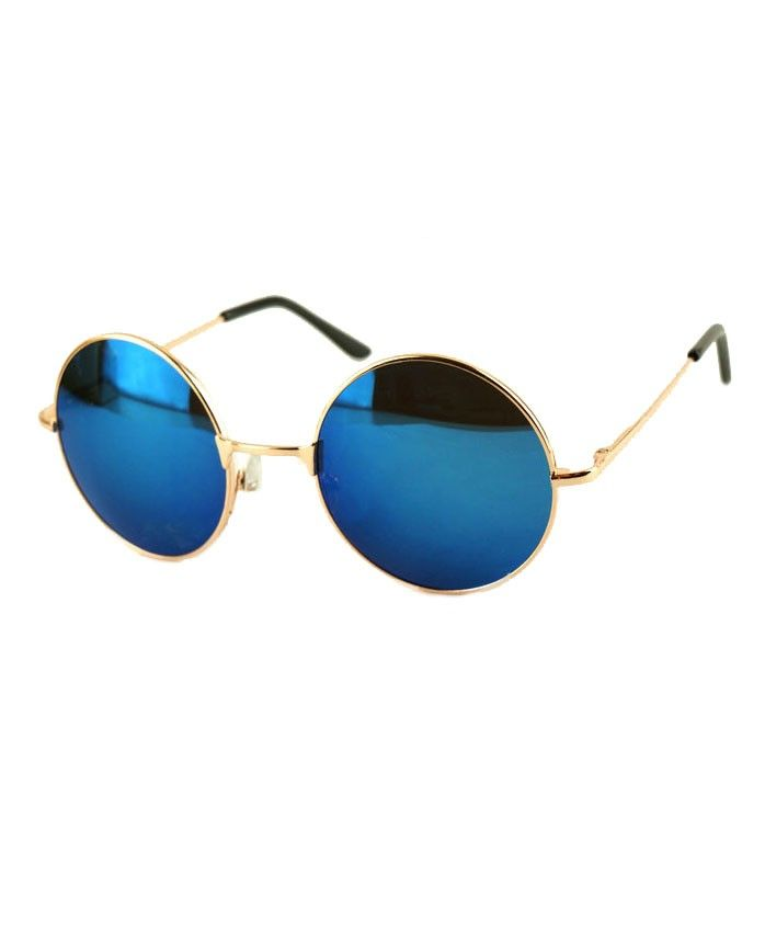 14d1283e322fc Retro Round Sunglasses