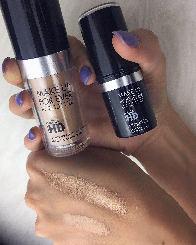 ultrahdgeneration MakeupForever Ultra HD Liquid and Stick
