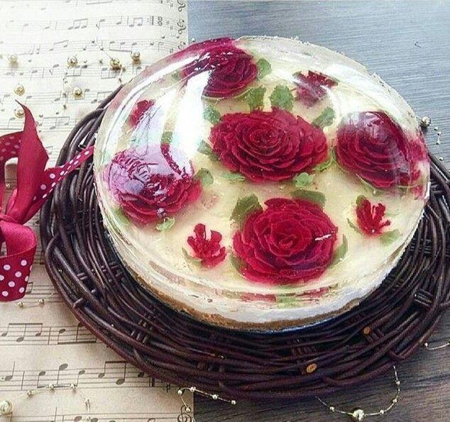 تزیین چیز کیک