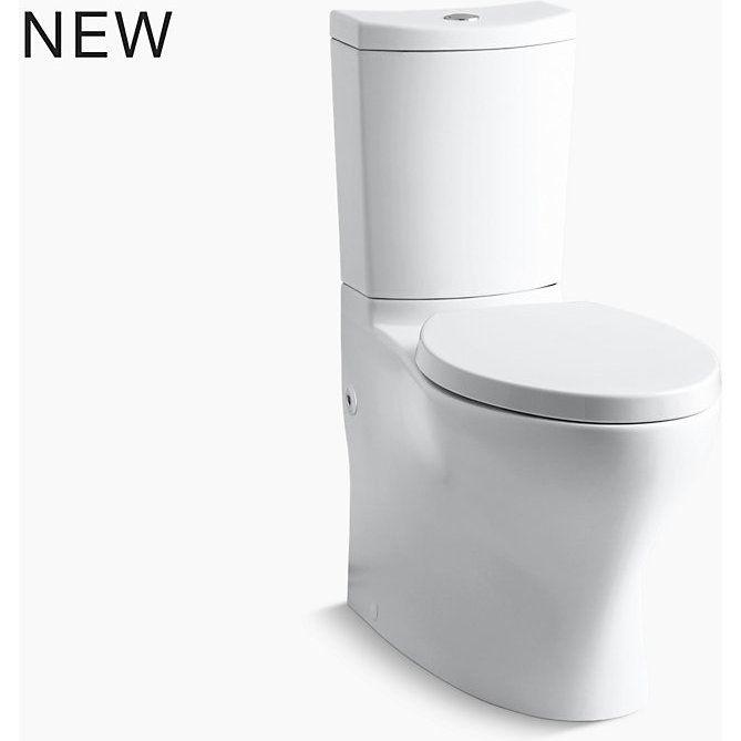 Kohler K 6355 0 Persuade Curv White Two Piece Elongated Bowl Toilets Efaucets Com Bathroom Redesign Dual Flush Toilet