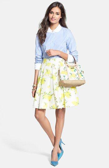 sunny and fun Kate Spade skirt
