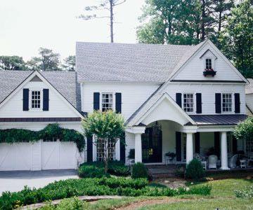 Colonial Style Home Ideas Modern Farmhouse Exterior Colonial Exterior Colonial Style Homes