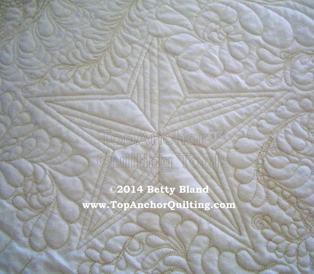 Star Machine Quilting Template – TopAnchor Quilting | Long Arms ...