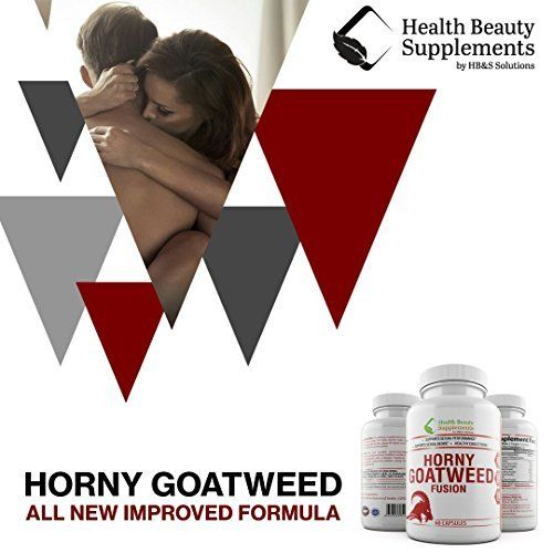* EXTREME HORNY GOAT WEED BLEND * Top Rated SEXUAL PERFORMANCE For Men And  Women - Proven Blend With L Arginine HCL – Maca Root – Panax Ginseng – Saw  ...