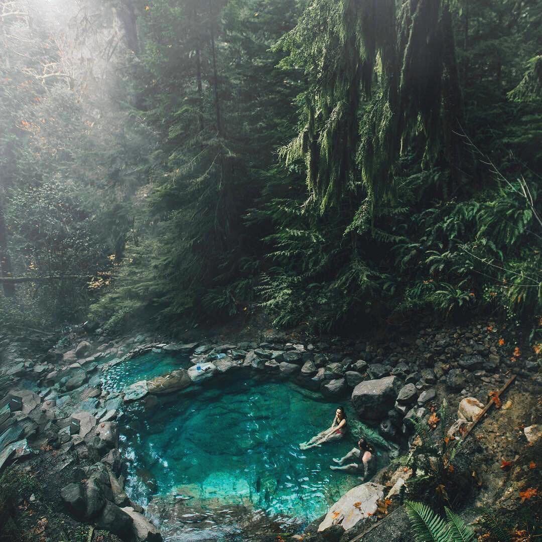 Toketee Falls - EscapingAbroad.com | Umpqua hot springs, Oregon, Vacation destinations