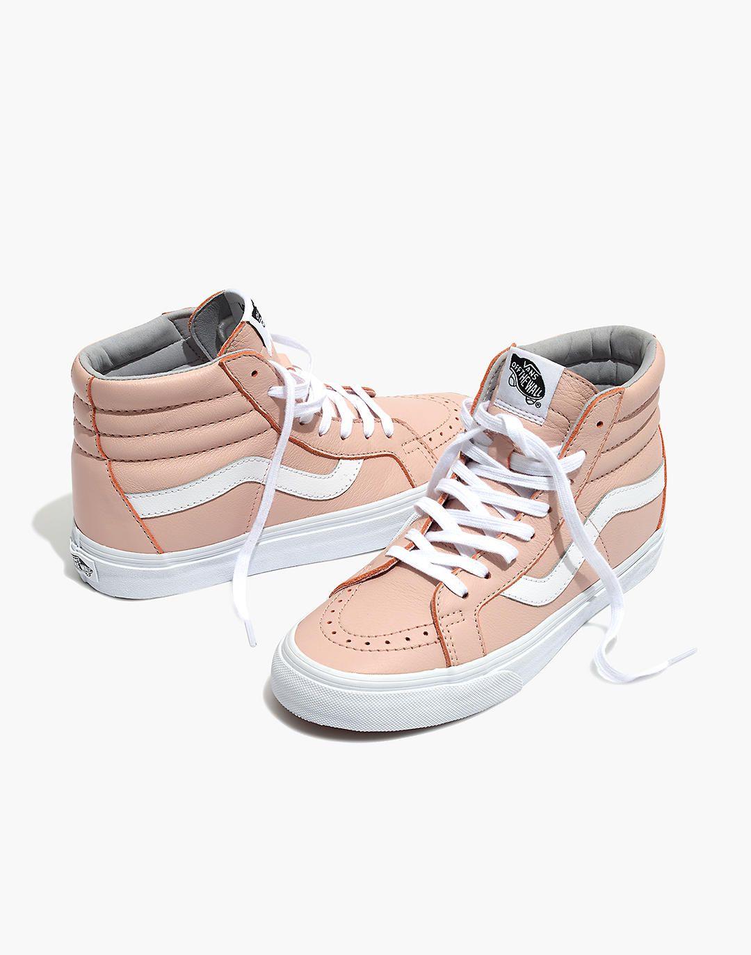 aaf69cc1471f0 Vans® Unisex SK8-Hi Reissue High-Top Sneakers in Oxford Pink Leather ...