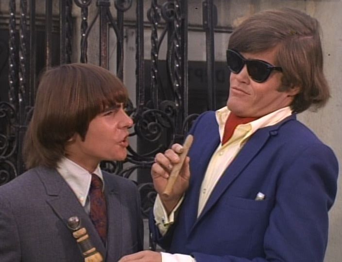 This is MD himself!... Get me Nishwash!  Davy Jones, Micky Dolenz, The Monkees