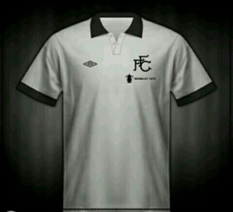 Fulham home shirt for the 1975 FA Cup Final.