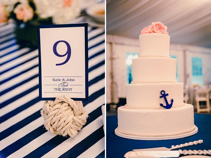 Modern Nautical Wedding In Wisconsin Images By Soda Fountain Photography Via Modernly Wed