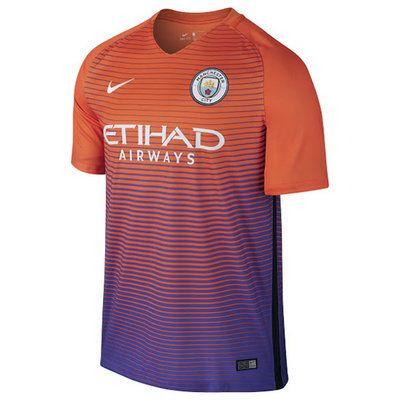 Tercera Equipacion Camiseta Manchester City 2016-2017