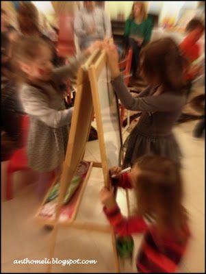 paint -party anthomeli.blogspot.com: Παιδικό πάρτυ με θέμα την ζωγραφική!