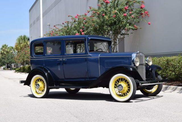 1931 Chevrolet Independence 4 Door Sedan Chevrolet Sedan Vintage Cars