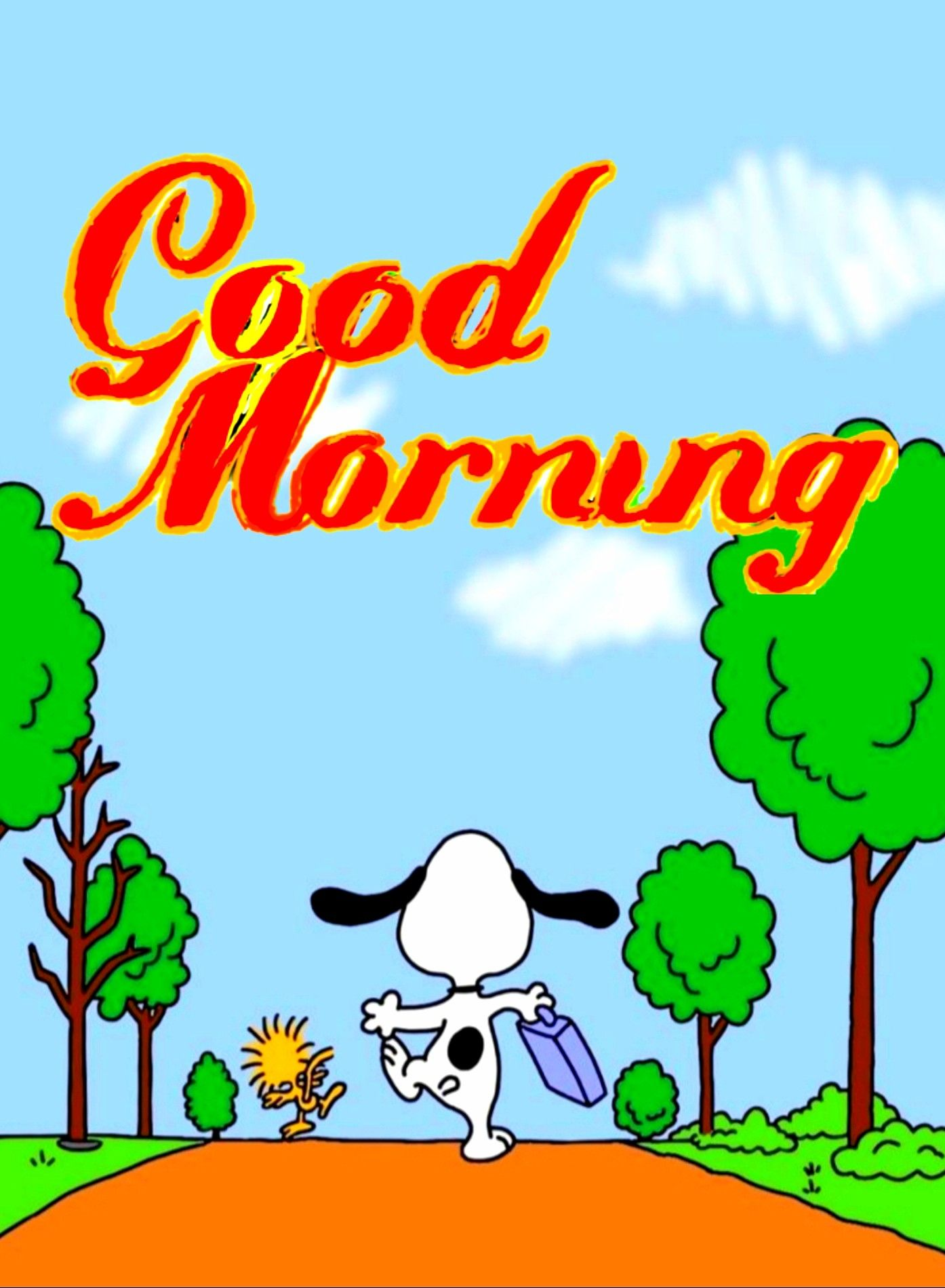 Gif snoopy guten morgen guten morgen