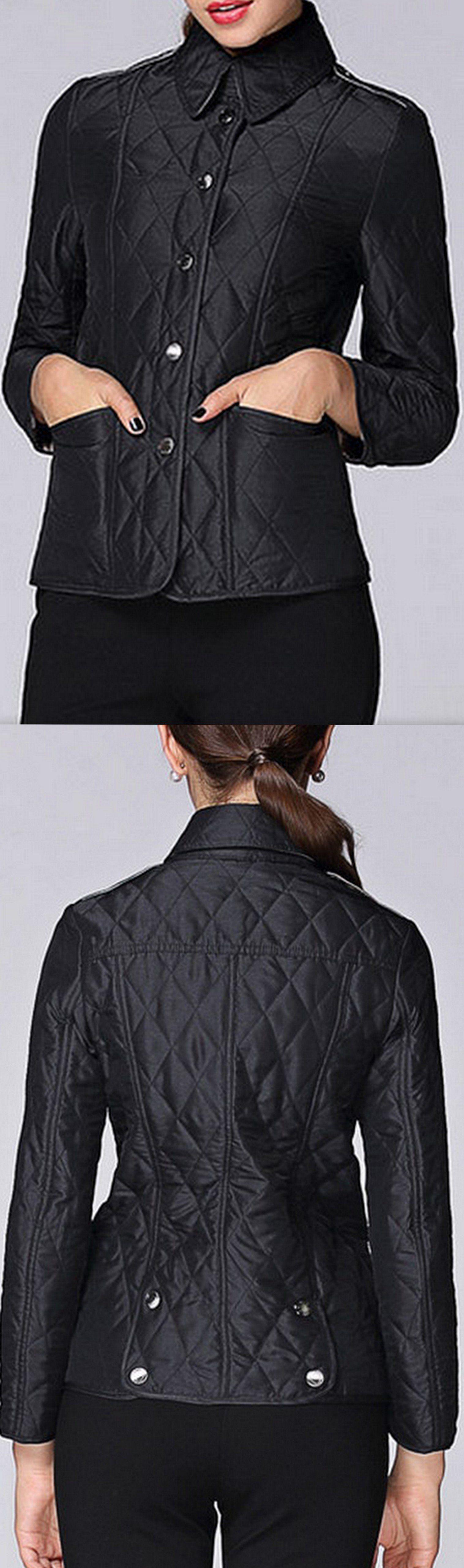 Diamond Quilted Jacket, Black or Khaki | Diamond quilt, Quilted ... : quilted designer jackets - Adamdwight.com