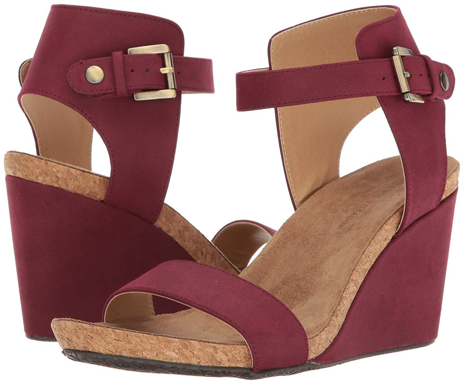 17283caf68c Adrienne Vittadini Footwear Women s Ted Wedge Sandal -- Read more reviews  of the product by