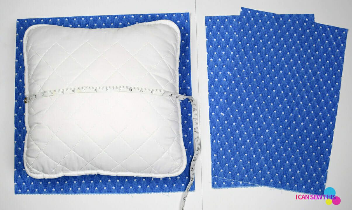 How to make an envelope pillow cover easy in 2020 | Pillow