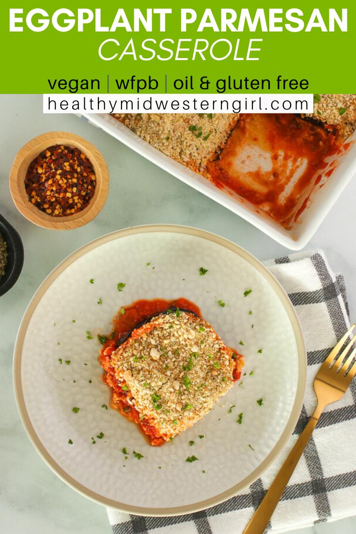 Easiest Vegan Eggplant Parmesan Recipe In 2020 Whole Food Recipes Vegan Recipes Easy Vegan Comfort Food