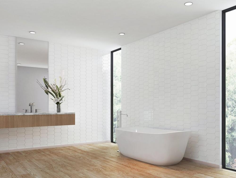 Dolomite Premium Facet Polished Marble Mosaic In 2020 Marble Mosaic Decorative Tile Mosaic