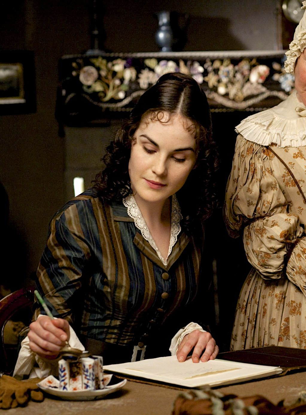 Michelle Dockery as Erminia Whyte in Return to Cranford