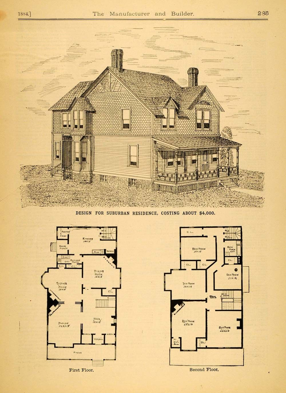 15 Awesome Retro House Plans Check More At Http Www House Roof Site Info Retro House Plans Victorian House Plans Architecture House House Floor Plans