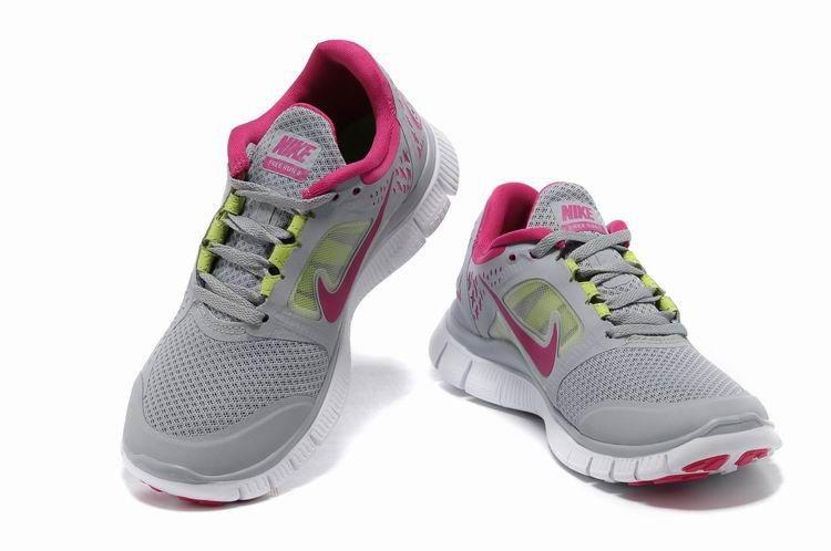 best website a8837 34099 ... coupon for vendre pas cher femme nike free run 3 grises peach blossom  en ligne dans