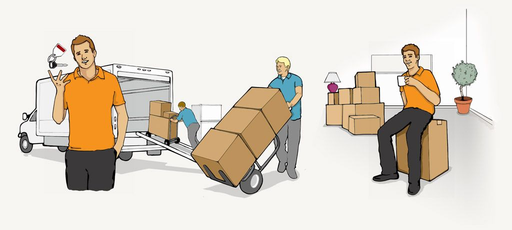 Local movers by the hour