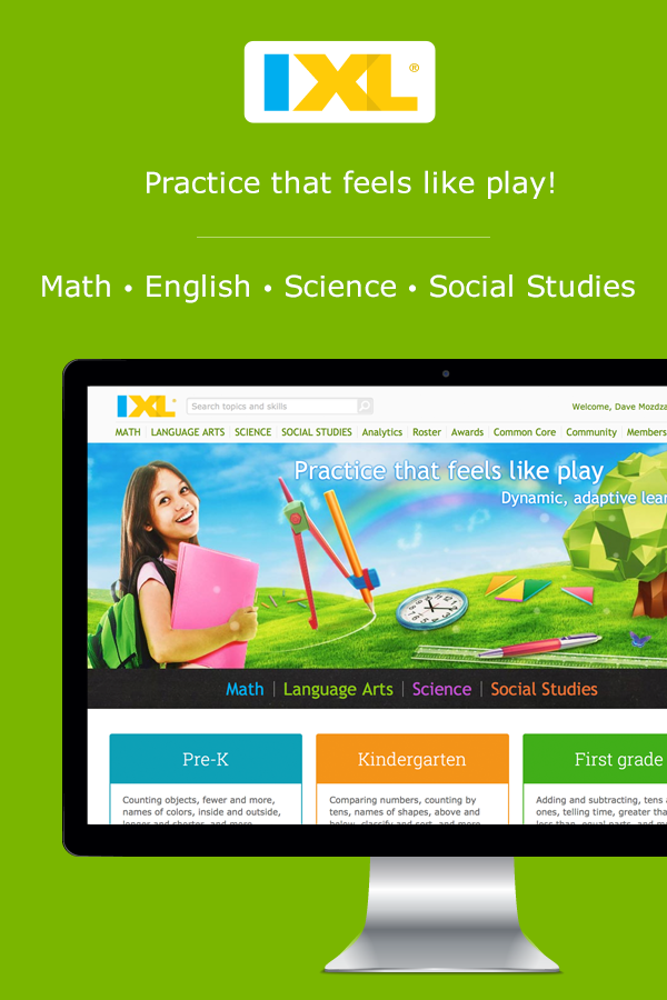 Online practice kids will love! Math, English, science and social ...
